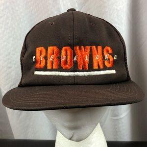 Vtg Cleveland Browns Trucker Hat